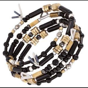 BNiB Silpada B3329 Nightfall wrap bracelet.